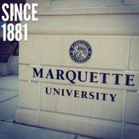 Photo taken at Marquette University by Father M. on 7/21/2012
