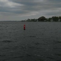 Photo taken at Red Sixteen Buoy In White Oak River by David S. on 4/2/2012