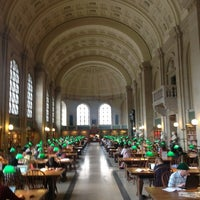 Photo taken at Boston Public Library by volkermampft on 6/16/2012