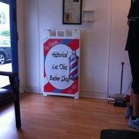 Photo taken at Las Olas Barber Shop by Gilbert M. on 8/25/2011