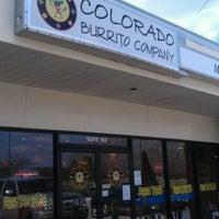 Photo taken at Colorado Burrito Company by Lindsay S. on 2/11/2012