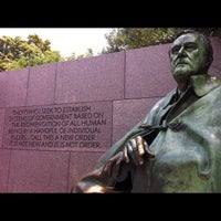 Photo taken at Franklin Delano Roosevelt Memorial by Jeff K. on 7/7/2012