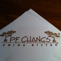 Photo taken at P.F. Chang's by April H. on 7/18/2011
