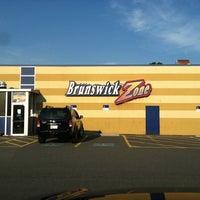 Photo taken at Brunswick Zone Lowell Lanes by Jeff H. on 7/23/2011