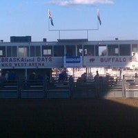 Photo taken at Wild West Arena by Dustin on 9/10/2011