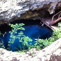 Photo taken at Cenote Pits by Martin R. on 6/20/2012