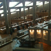 Photo taken at Bibliotheca Alexandrina by Thomas G. on 10/17/2011