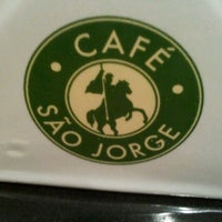 Photo taken at Café São Jorge by Bruno G. on 7/14/2012