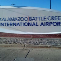 Photo taken at Kalamazoo - Battle Creek International Airport (AZO) by Erik P. on 9/15/2011