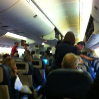 Photo taken at DL 187 Detroit - Hong Kong by Todd C. on 1/7/2012