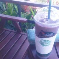 Photo taken at Cafe' Amazon Coffee Adventure (PTT วังน้ำเขียว) by Skato on 10/18/2011