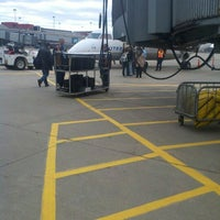 Photo taken at Gate D77 by george h. on 3/29/2012
