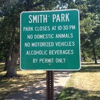 Photo taken at Smith Park by Sloppy J. on 8/10/2012