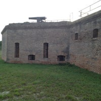 Photo taken at Fort Gaines by Sloan B. on 4/4/2012