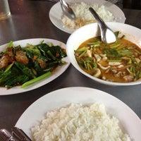 Photo taken at ร้านอาหารตามสั่งริมถนน (ปากซ.งามวงศ์วาน58) by Namikaze M. on 5/16/2012