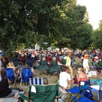 Photo taken at Bidwell Summer Concert Series by Crystal N. on 7/17/2012
