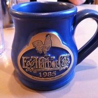 Photo taken at Egg Harbor Cafe by Amanda E. on 11/19/2011