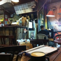 Photo taken at Lonely Planet Coffee by Janette T. on 3/12/2011