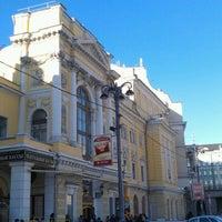 Снимок сделан в Российский академический молодёжный театр (РАМТ) пользователем Dmitry B. 1/29/2012