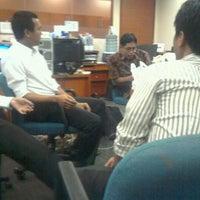 Photo taken at Indonesia Eximbank | Lembaga Pembiayaan Ekspor Indonesia by Just Y. on 1/30/2012