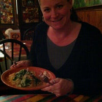 Photo taken at Cafe Azteca by Stacey on 9/18/2011