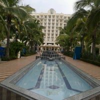 Photo taken at RIU Palace Pacifico Hotel by Elvia Z. on 9/5/2012