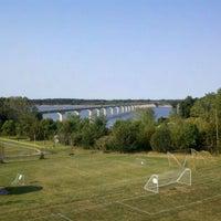 Photo taken at Mile Long Bridge by Brian R. on 9/13/2011