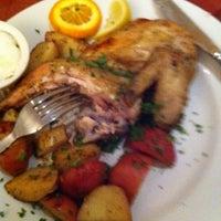 Photo taken at Apollonia Greek Bistro by Treion M. on 8/20/2011
