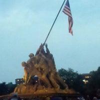 Photo taken at US Marine Corps War Memorial (Iwo Jima) by Jaclyn J. on 7/5/2011