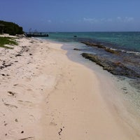 Photo taken at Lime Cay by Tateru I. on 9/24/2011