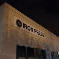 Photo taken at The Iron Press by Foodie in Disguise (. on 2/19/2012