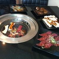 Photo taken at AKA USHI - Japanese Grill & Sushi by Pisut N. on 3/10/2012