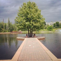 Photo taken at Centennial Lakes Park by Stuart on 6/13/2012