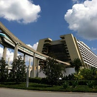 Photo taken at Disney's Contemporary Resort by Jory P. on 6/11/2012