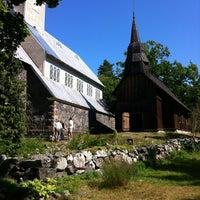Photo taken at Ruhnu Püha Magdaleena kirik by Resident79 on 8/18/2012