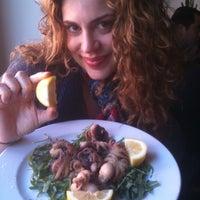 Photo taken at Osteria Vassallo by Nora G. on 4/11/2012