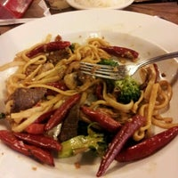 Photo taken at Mongolian Grill San Jacinto by Triana R. on 3/16/2012