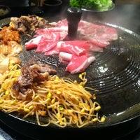Photo taken at Honey Pig Korean BBQ by Yong Gu L. on 10/1/2011