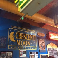 Photo taken at Crescent Moon Ale House by Amanda R. on 6/25/2012