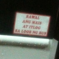 Photo taken at JAC Liner Inc. (Pasay Terminal) by Christian S. on 3/2/2011