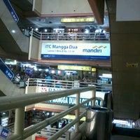 Photo taken at ITC Mangga Dua by Jamno T. on 6/22/2012