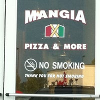 Photo taken at Mangia Pizza & More by Sallie R. on 9/11/2011