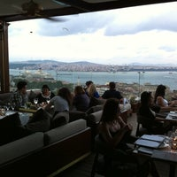 Photo taken at Georges Hotel Roof Terrace by Jeff M. on 7/8/2012