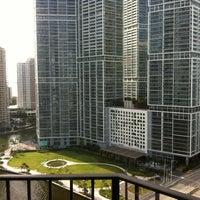 Photo taken at Hyatt Regency Miami by Jeff B. on 8/18/2012