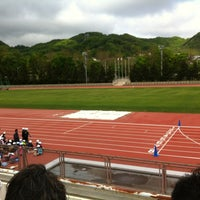 Photo taken at 円山総合運動場 by moi on 5/26/2012