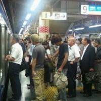 Photo taken at Platforms 9-10 by Yasushi C. on 9/6/2011