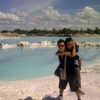 Photo taken at Tambang Kaolin, Belitung by Dhanti D. on 2/9/2012