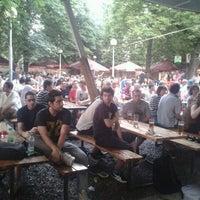 Photo taken at Zahrádky a restaurace Riegrovy sady – Park Café by Mirek H. on 6/18/2012