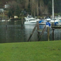 Photo taken at Gig Harbor Waterfront by Michael M. on 1/10/2012