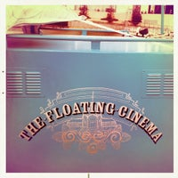 Photo taken at The Floating Cinema by Kit F. on 7/15/2011